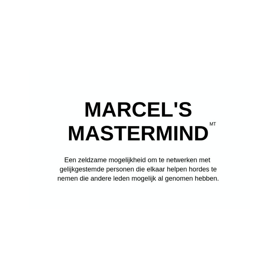 Marcel's Mastermind ZONDER mailadres