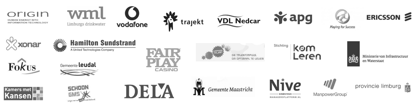 Logo's bedrijven zw